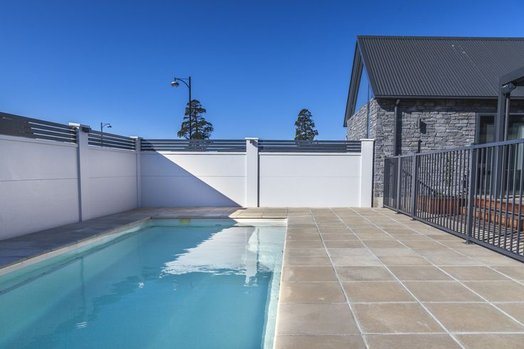 Luxurious & Elegant!  When the owner wants privacy we deliver!  #poolfencing #privacy #wemakefencingeasy  For more inspiration check out https://www.boundaryline.co.nz/case_study/
