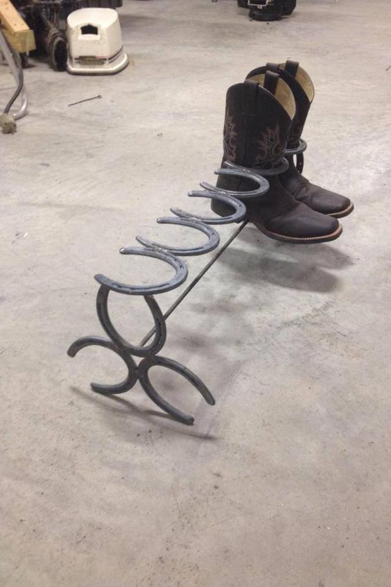 25 best ideas about cool welding projects on pinterest for Cool things made out of horseshoes