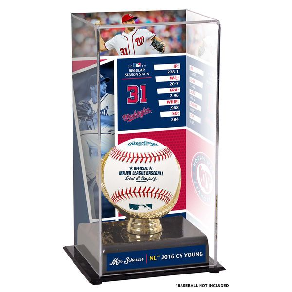 Max Scherzer Washington Nationals Fanatics Authentic 2016 National League Cy Young Display Case with Image - $49.99