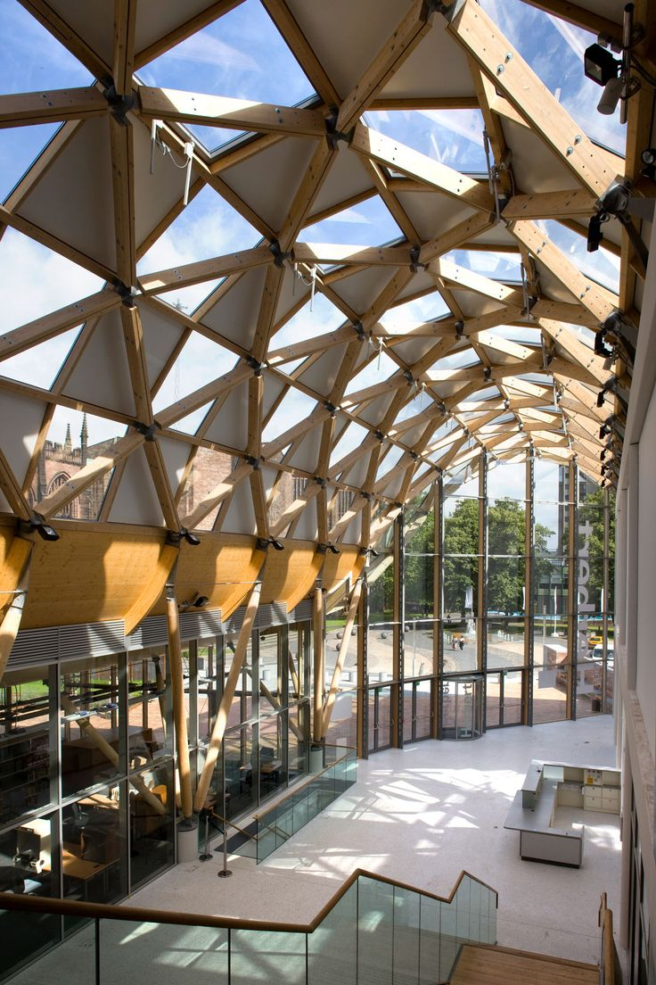 Glulam Used In Wooden Facade Of Herbert Art Gallery