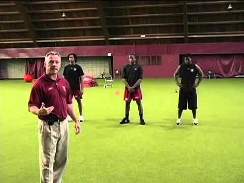 Coaching Football Defense - Defensive Back Tackling Drill