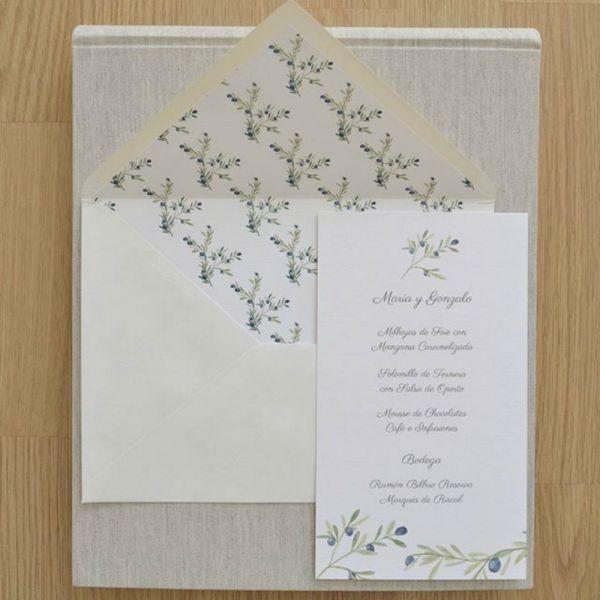 37 tipos de invitaciones de boda. ¡Toma nota e invita con estilo! Image: 27