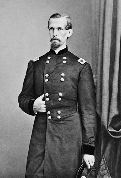Michael Corcoran (September 21, 1827 – December 22, 1863) was an Irish American general in the Union Army during the American Civil War & a close confidant of President Abraham Lincoln. As its colonel, he led the 69th New York Regiment to Washington, D.C. & was one of the first to serve in the defense of Washington. He then led the 69th into action at the First Battle of Bull Run. As brigadier general, he left the 69th & formed the Corcoran Legion. He was born in County Sligo in Ireland