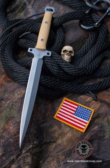 Relentless Knives M6 Tooth Pick Military Survival knife