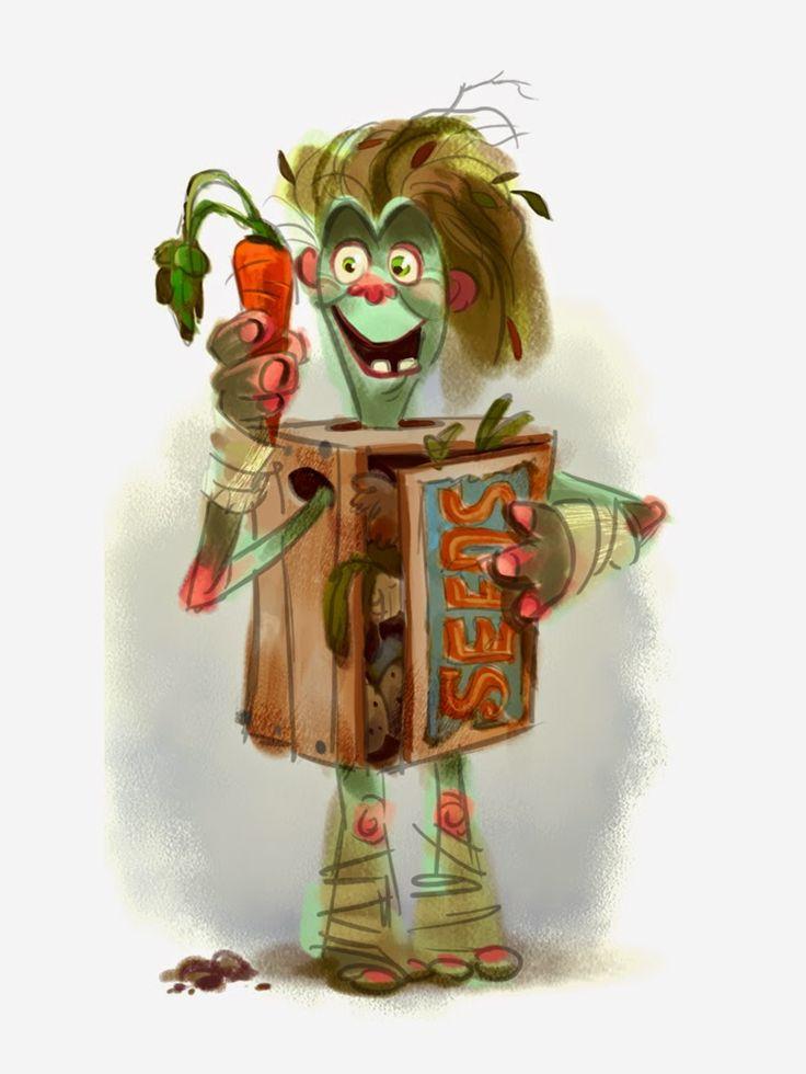 Cartoon Characters Looking Forward : Best boxtrolls images on pinterest