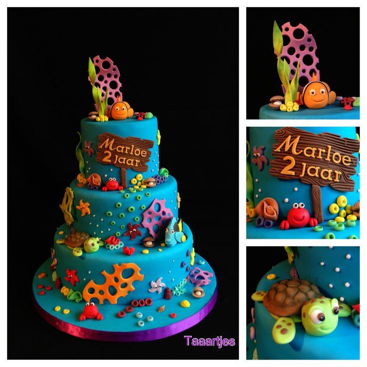 Finding Nemo Cake - Finding Nemo cake