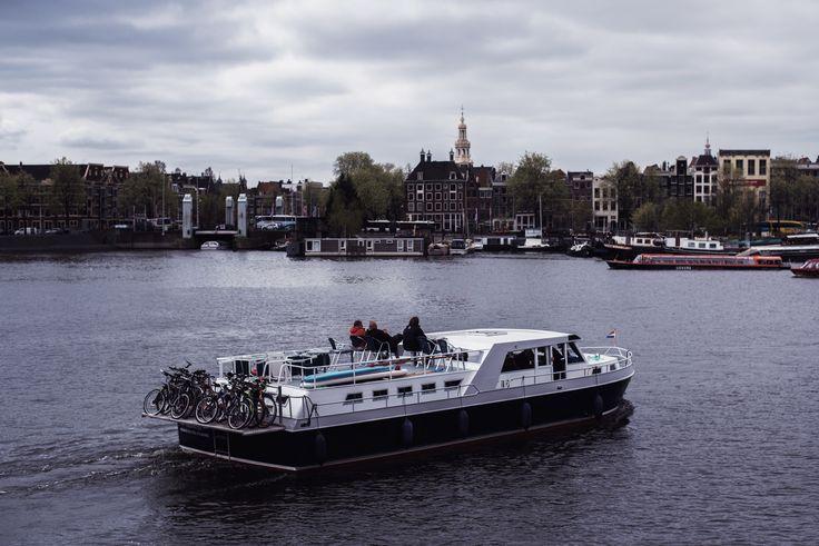 Amsterdam #1 | Boats and Bicycles | Moonlight Bohemian