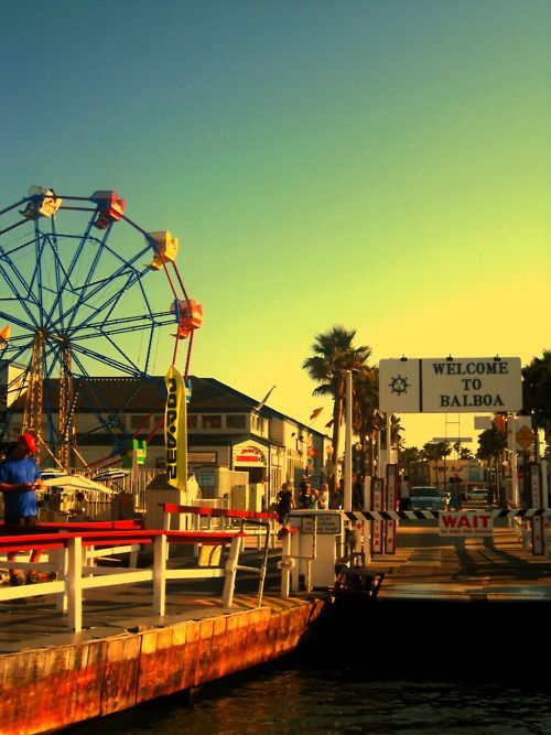 Balboa Island, Newport Beach, CA- still one of the most fun places on earth, even as an adult