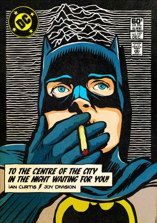 ジョイ・ディヴィジョン(Joy Division) イアン・カーティス(Ian Curtis) The Post-Punk / New Wave Super Friends by Butcher Billy by Butcher Billy, via Behance