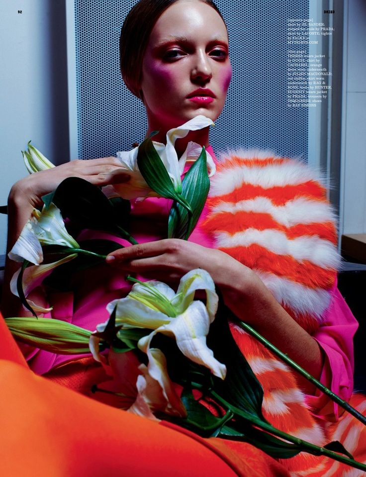 Dazed & Confused January 2011 Title : Primary  Photography : Kacper Kasprzyk Models : Theres Alexandersson  Eugeniy Savchenko