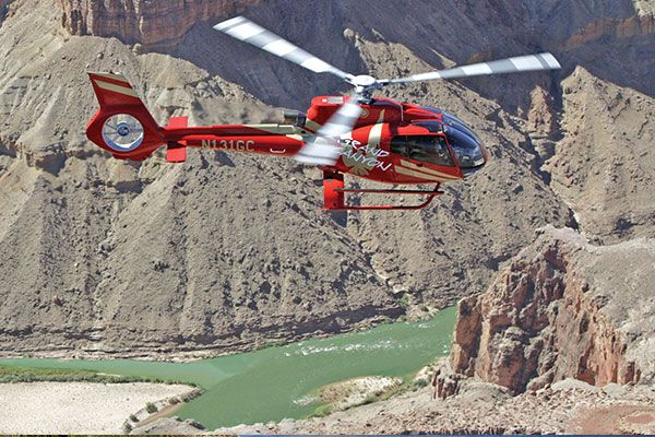 Grand Canyon Helicopter rides, for views usually reserved for the birds. Climb aboard for a thrilling ride!