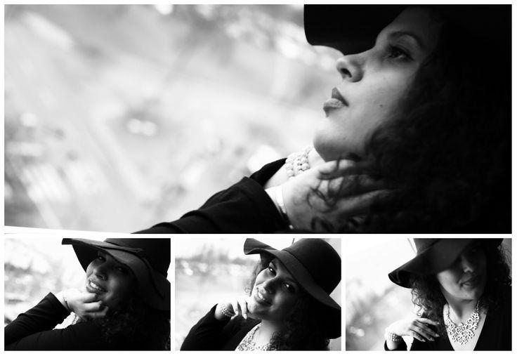 #classy #elegant #blackandwhite #collage #hat