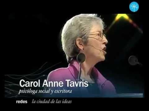 Carol Anne Tavris: La disonancia cognoscitiva (La Ciudad de las Ideas 20...
