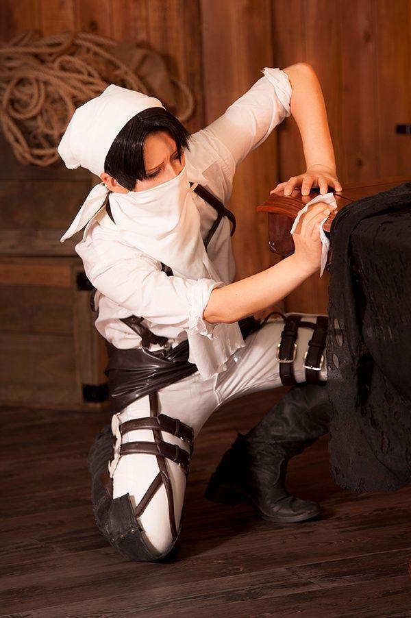 Rivaille cosplay. Shingeki no Kyojin ♥