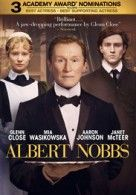Albert Nobbs was not my cup of tea, but it could possibly be yours. For viewers who enjoy period pieces, appreciate the costuming, the art direction, and the particular kind of dialogue that the best of these offers, maybe give Albert Nobbs a shot. http://thevideostation.com/blog/2012/05/17/albert-nobbs-reviewed-by-joyce/#