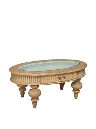 -34,750% OFF GuildMaster Cottage Shadow Box Table, Stain
