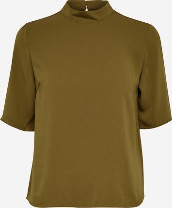Stehkragen-Bluse mit 2/4 Ärmeln von JACQUELINE De YONG. Schnelle und kostenlose Lieferung. 100 Tage Rückgaberecht.