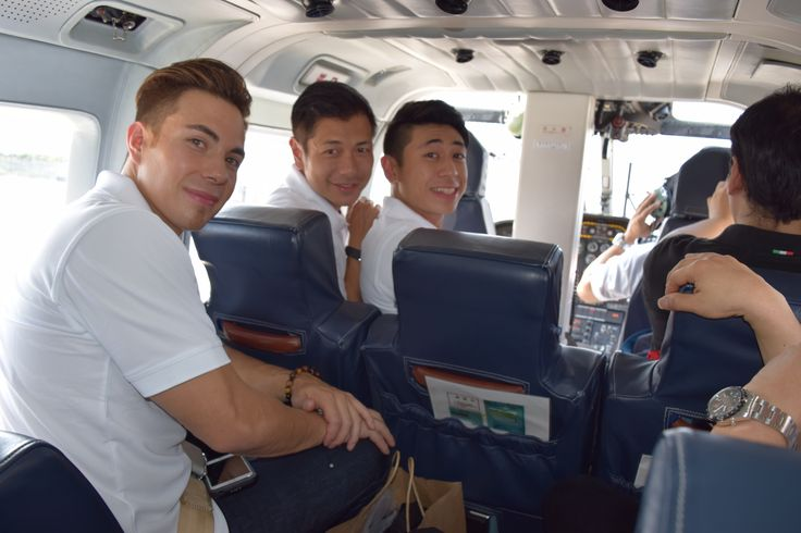 - Apolo, Rod and Ryan on the chopper to Fuji Speedway  #RodJao #AllysianTeam #FujiSpeedway