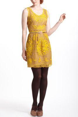 Honeycomb Lace Dress