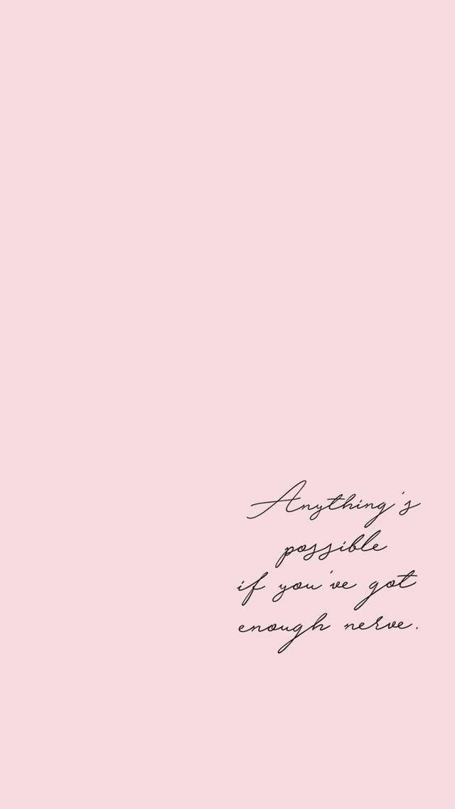 Inspiring Quotes Life Quote Iphone Wallpaper Quotes Wallpaper