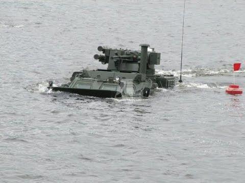 Pengujian BTR 4 Korps Marinir TNI AL oleh Biro Desain Morozov