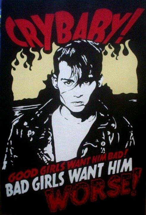 Johnny Depp in Crybaby