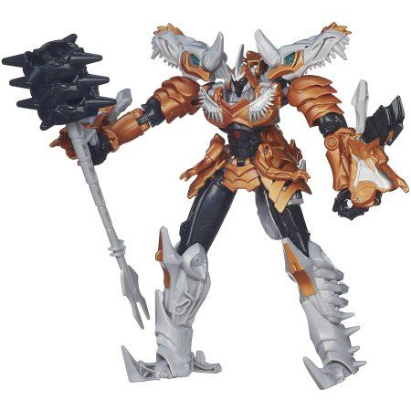 Transformers Age of Extinction Generations Voyager Class Grimlock Figure, Multicolor