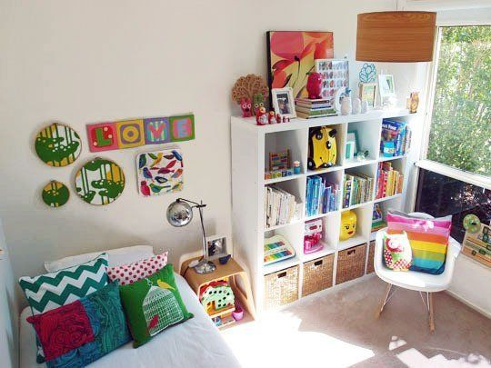 bright and cheery colors seems feasible to keep up with..