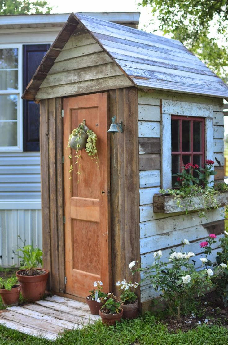10 DIY Awesome and Interesting Ideas For Great Gardens 6 - Top 25+ Best Tool Sheds Ideas On Pinterest Garden Shed Diy