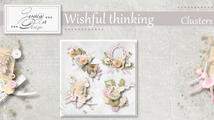 Wishful thinking clusters by Jessica art-design