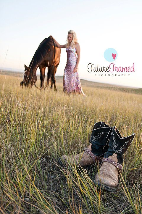 Future Framed Photography: Carlee - Senior ... with her horses