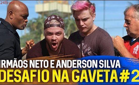 DESAFIO NA GAVETA #2 IRMÃOS NETO e ANDERSON SILVA