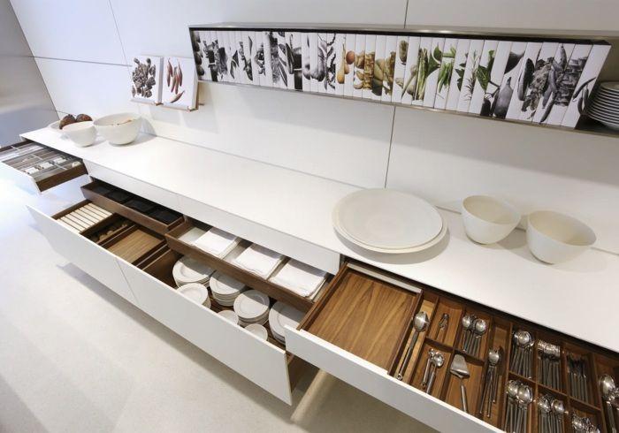 neues Schub-und-Auszugssystem in der Bulthaup Küche