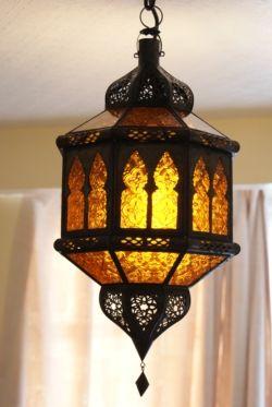 Moroccan Lantern - ML11 Amber