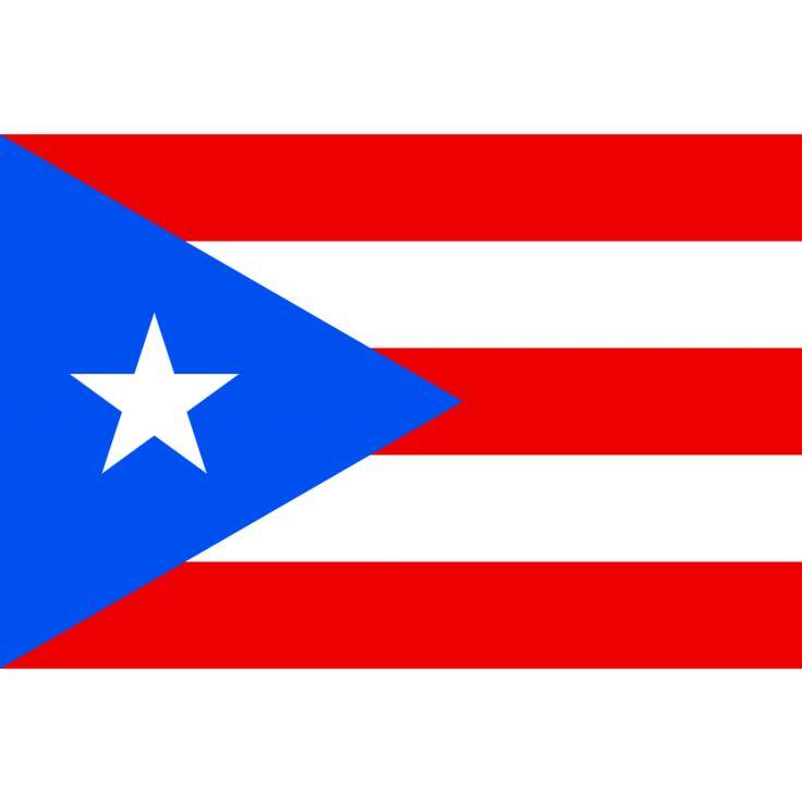 vlag Puerto Rico | Puerto Ricaanse vlaggen 100x150cm De vlag van Puerto Rico is in 1885 ontworpen en heeft in 1952 een officiële status gekregen. De gelijkenis met de vlag van Cuba is zeker geen toeval, aangezien de vlag werd ontworpen rond dezelfde tijd door mensen met eenzelfde doelstelling, namelijk aansluiting bij de Verenigde Staten