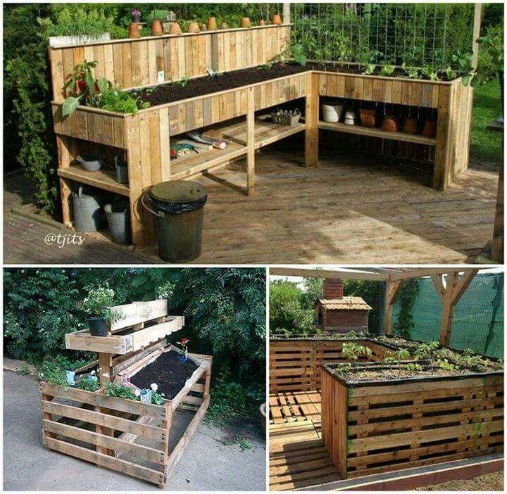 1000 id es sur le th me fabriquer un composteur sur - Jardin sureleve creation ...