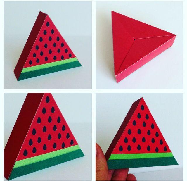 Caixa melancia