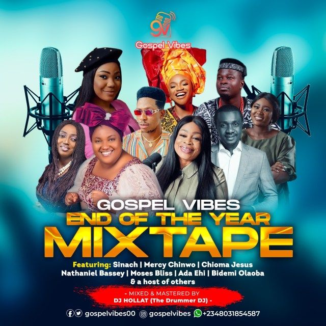 Dj Hollat Happy New Year 2021 Gospel Mixtape In 2021 Mixtape Dj Gospel