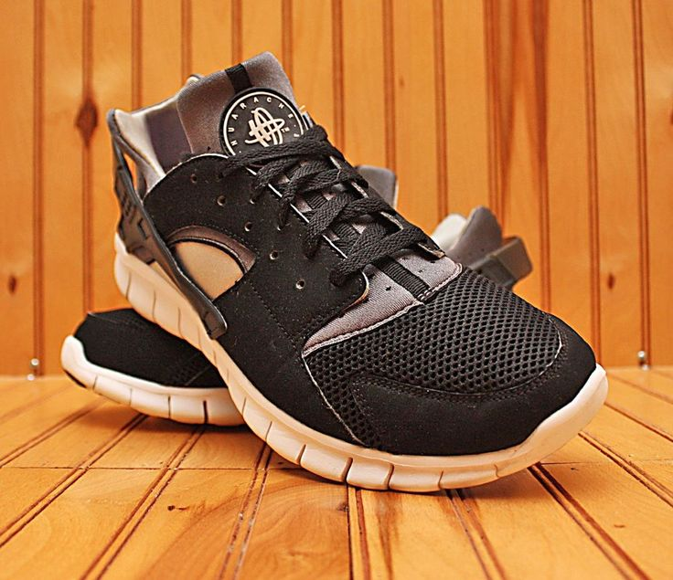 2012 Nike Air Huarache Free Run Size 10 - Black Grey White - 487654 012 |.  Nike Air HuaracheNike SchuheAthletisch