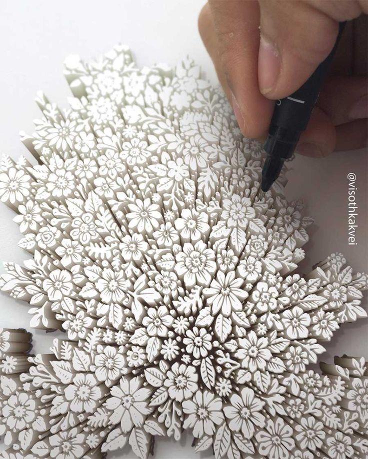 Zeichnungen: Visoth Kakvei – 3D-Skizzenbuch – Picotti