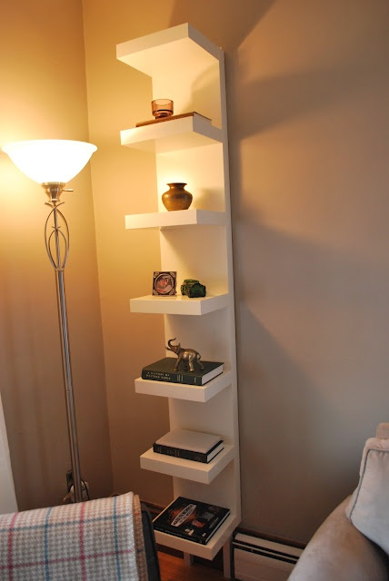 Ikea lack wall unit shelf with support legs Marcy: what about for use in library as display or dining room near corners as display