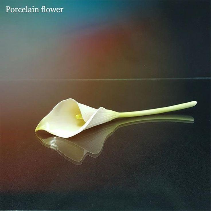 195 отметок «Нравится», 10 комментариев — Fine porcelain Anri Irene (@anri.irene_porcelain.art) в Instagram: «Porcelain calla lily. Hand-built. Porcelain flower, stem.  #porcelain #porcelaine #porcelainflowers…»