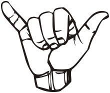 Shaka sign - Wikipedia, the free encyclopedia
