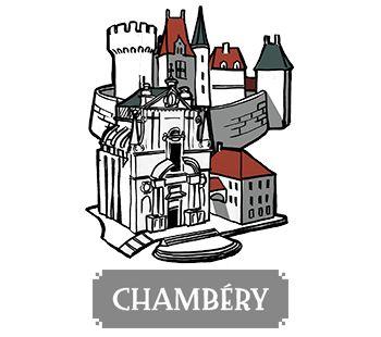 Chambéry - boardgame Pélotone1903