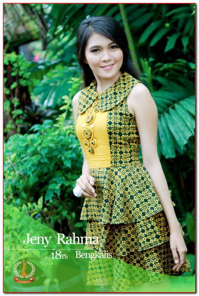 model baju batik riau