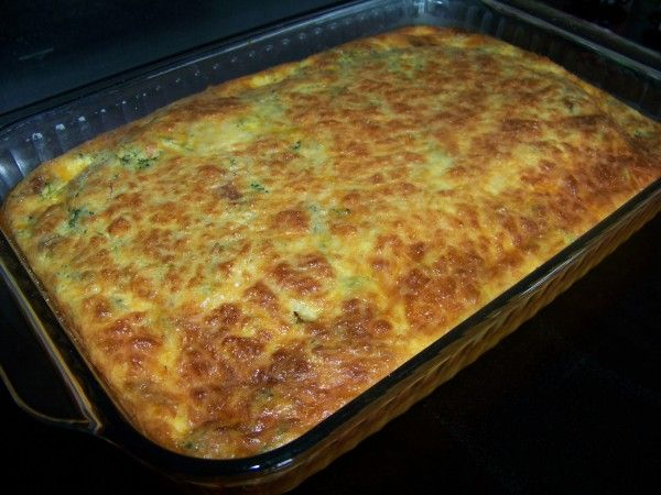 #LowCarb Broccoli and Bacon Egg Casserole Shared on https://www.facebook.com/LowCarbZen
