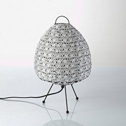 Lamp in bedrukt katoen, Zalie La Redoute Interieurs