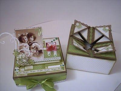 Mini und Maxi Anleitungen: Faltkarten-Box mit Deckel ohne Scor Pal