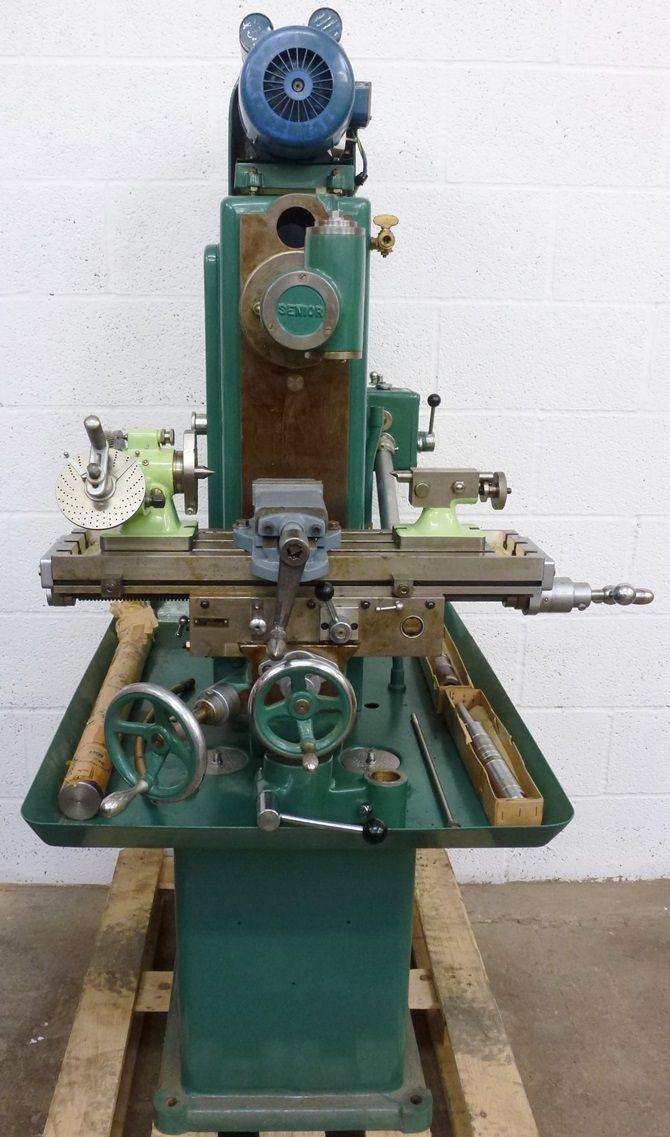 Tom Senior M1 Vertical Horizontal Mill Machine Tools
