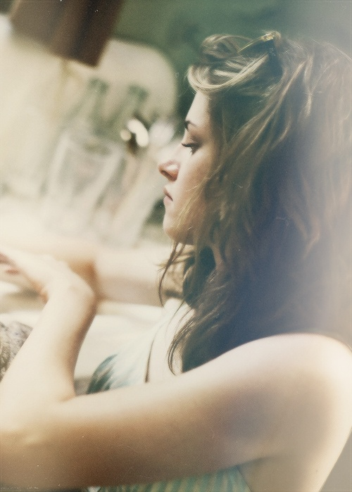 """Kristen Stewart portrays the character of Marylou in the movie """"On the Road""""........"""